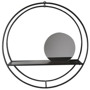Sort spejl deko indretning home retrofabrikken