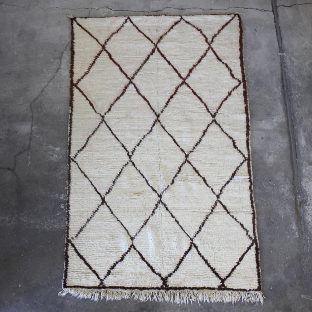 Marokkansk tæppe design indretning
