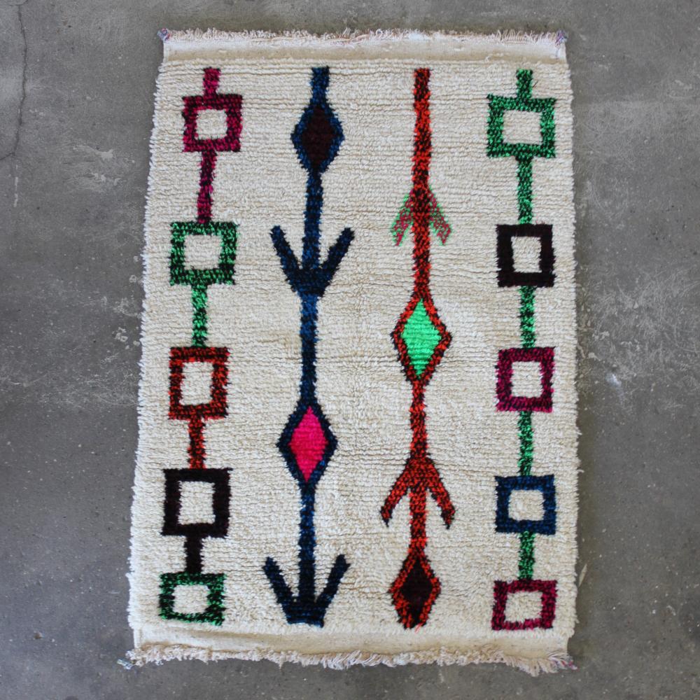 Marokkansk tæppe uld