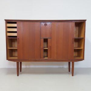 skænk i teak retro design dansk