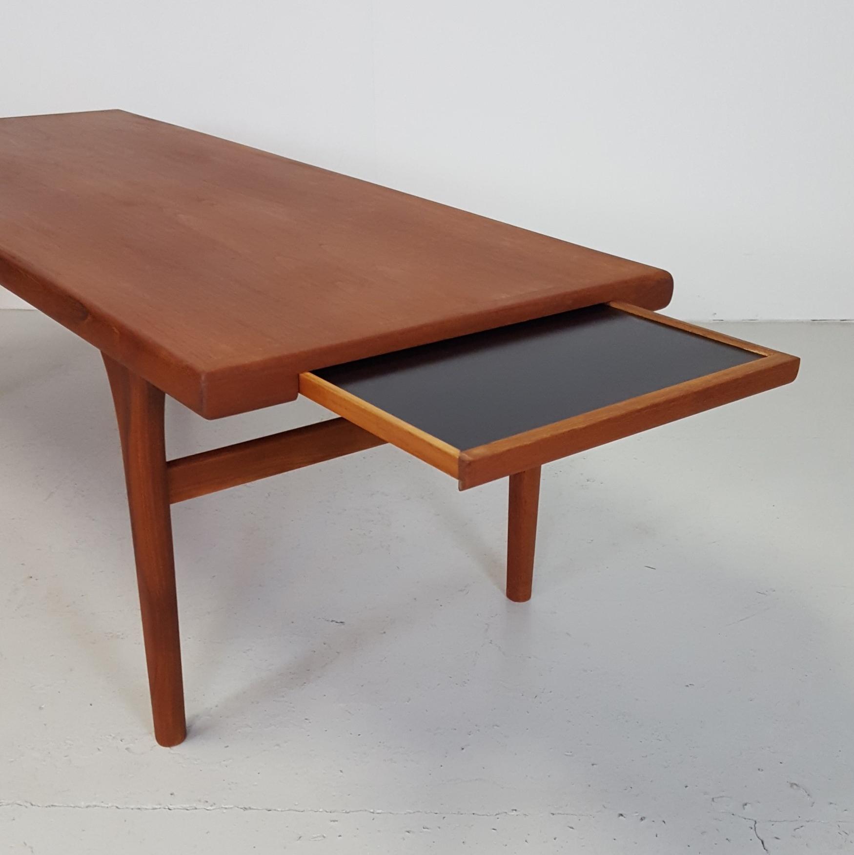 sofabord teak Sofabord i massiv Teak   Retrofabrikken sofabord teak