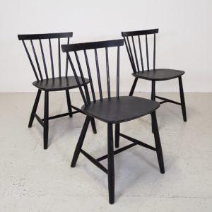 Spisebordsstol/ tremmestol J46 / Poul M. Volther