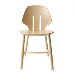 J67 spisebordsstol i bøg – designet af Ejvind A. Johansson