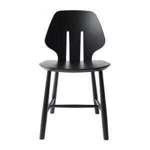 J67 spisebordsstol i sort – designet af Ejvind A. Johansson