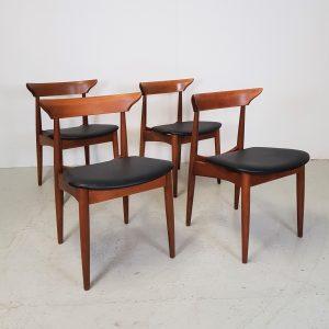 Spisebordsstole i Teak
