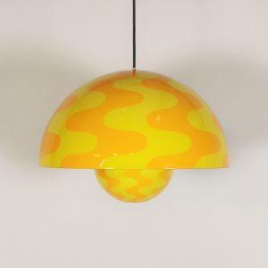 Flowerpot lampe / Verner Panton