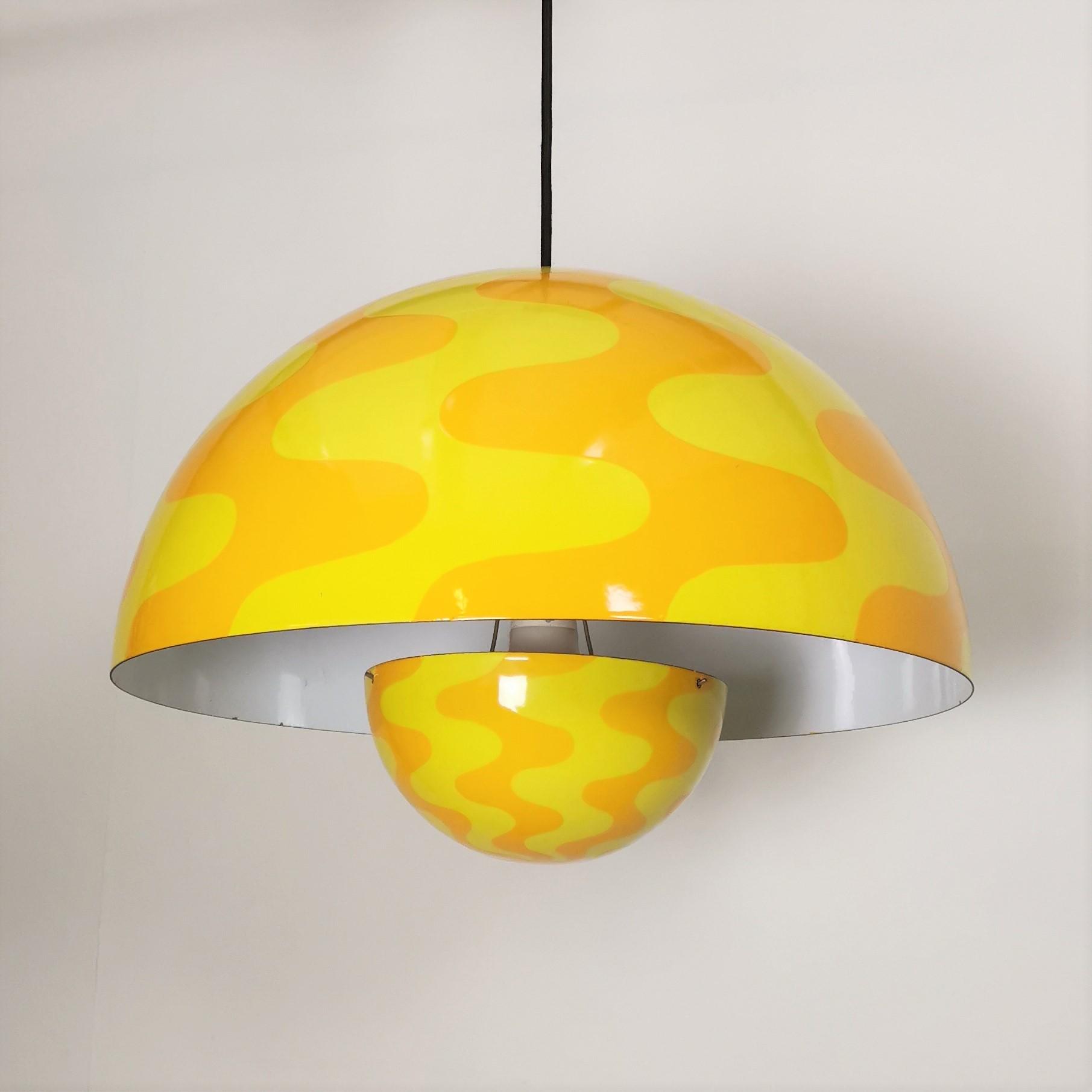 flowerpot lampe verner panton retrofabrikken. Black Bedroom Furniture Sets. Home Design Ideas