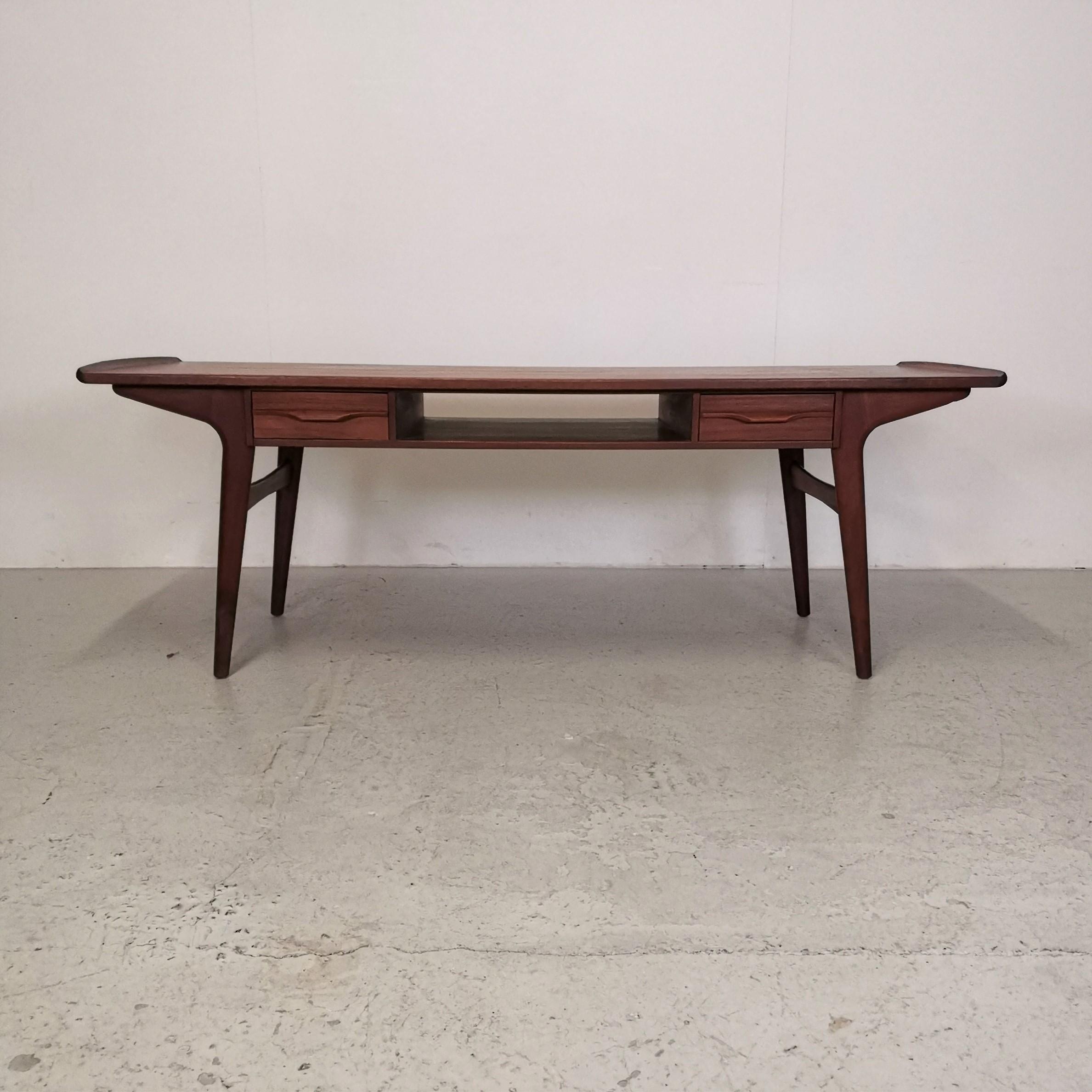 Modernistisk Sofabord i Teak - Retrofabrikken FR-14