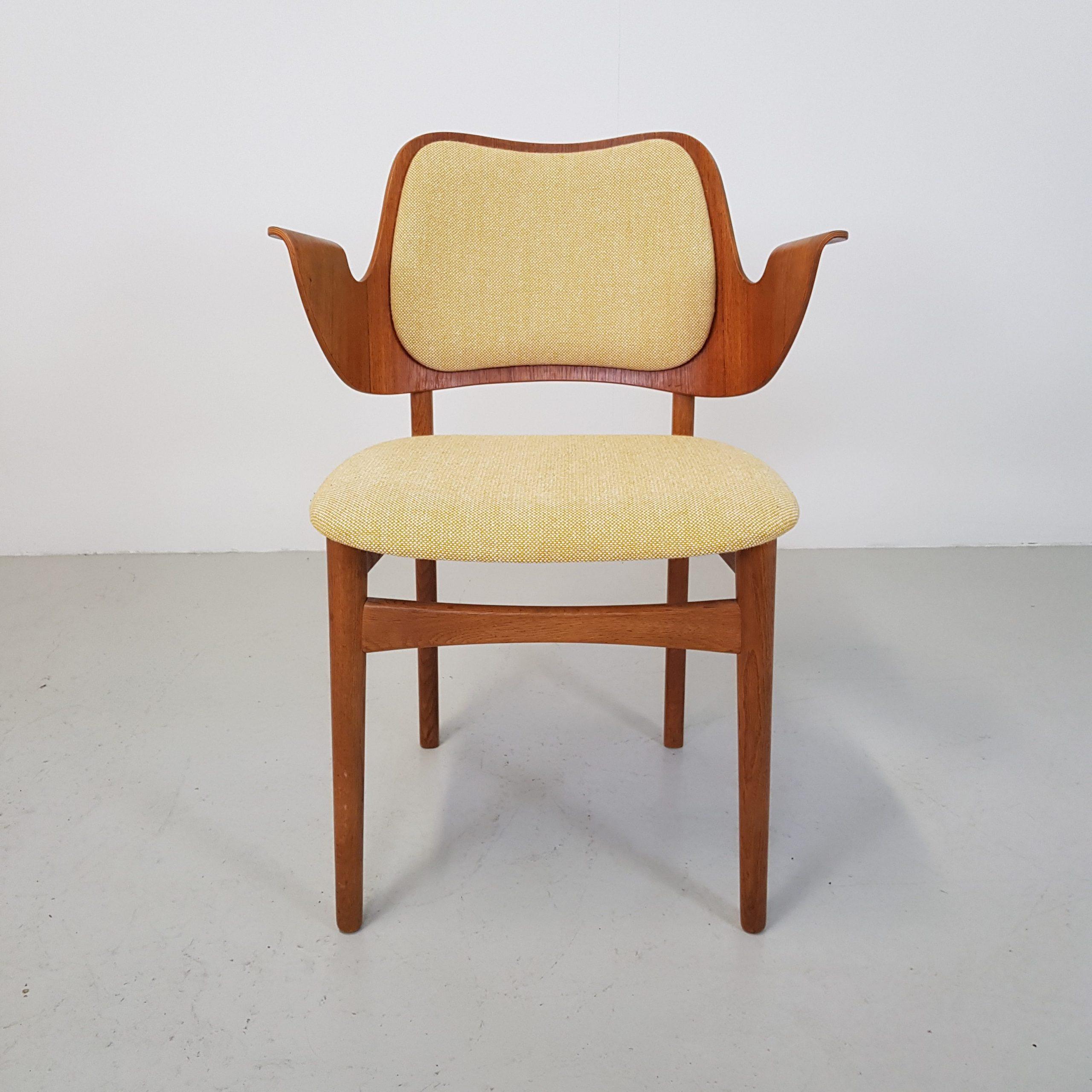 Spisebordsstol | Hans Olsen | Teak og eg