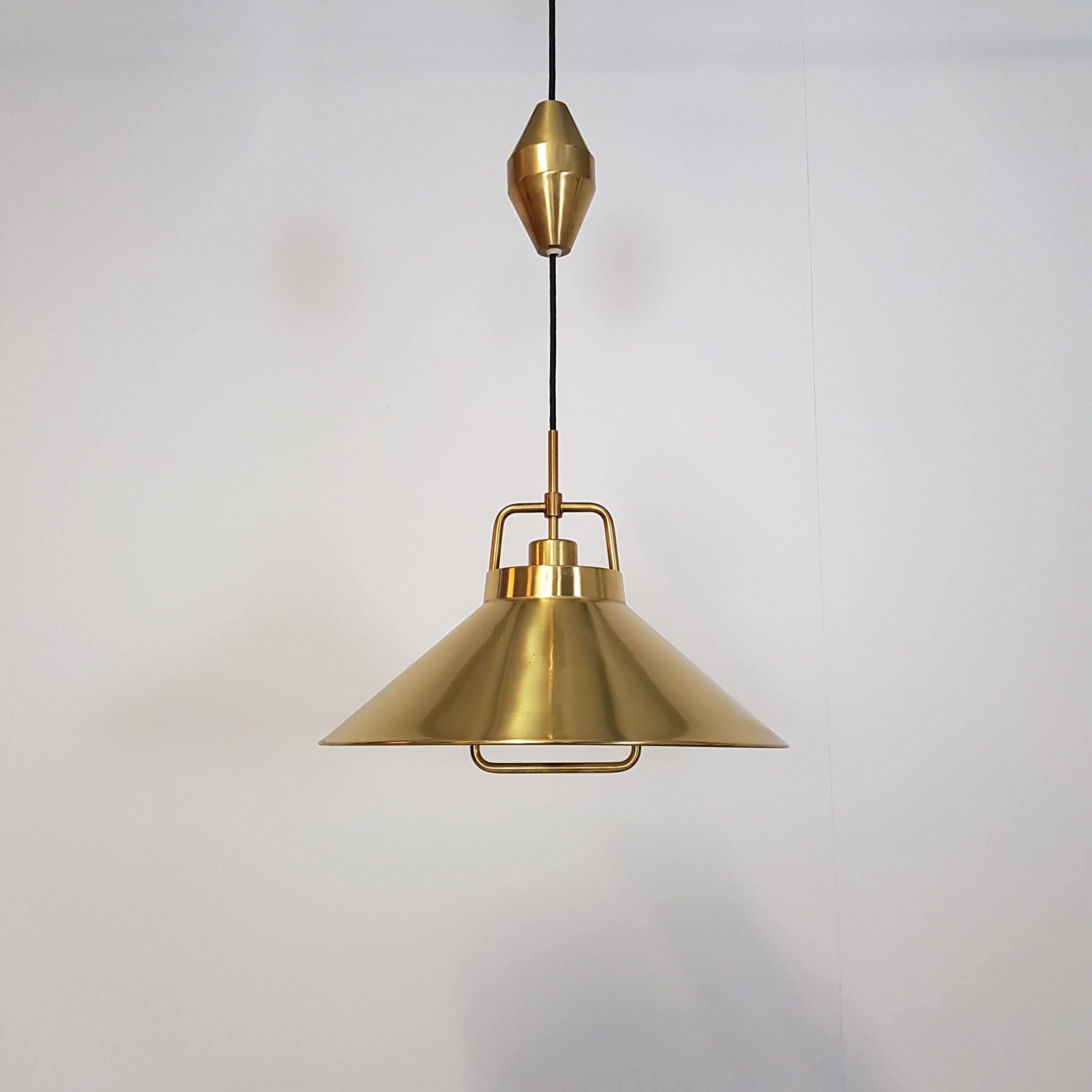 Pendel lampe   Messing   Retrofabrikken